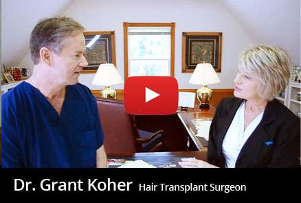 Dr. Grant Koher Hair Transplants. Raleigh NC